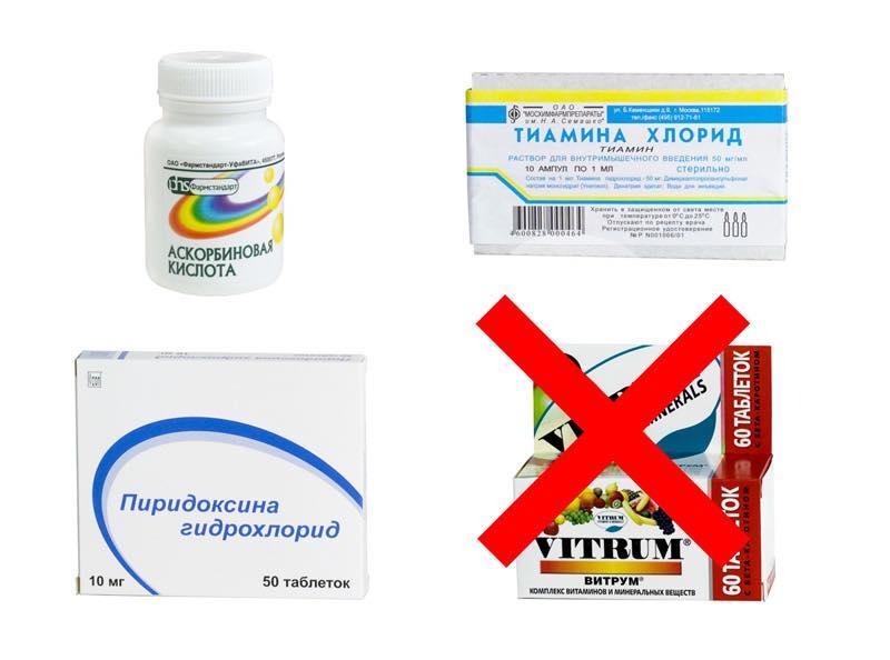 Витамины и похмелье