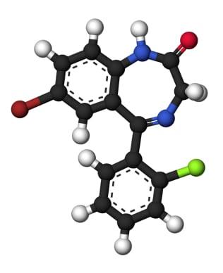 Молекула феназепама