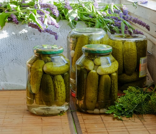 Pickled cucumber brine is a very popular remedy in Russia used to cure a hangover
