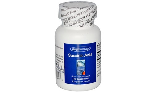 The use of succinic acid helps the body with detoxification