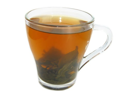 Зелёный чай помогает при похмелье